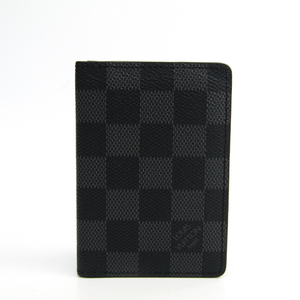 Louis Vuitton Damier Graphite Card Case Damier Graphite Pocket Organizer N63143