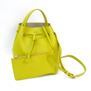 Furla Stacy 810280 Women's Leather Handbag Yellow