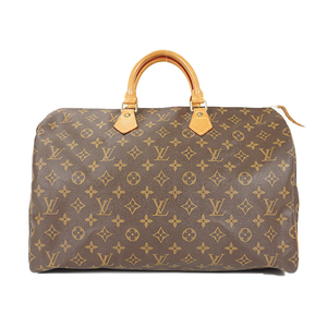 Auth Louis Vuitton Boston bag Monogram Speedy 40 M41522