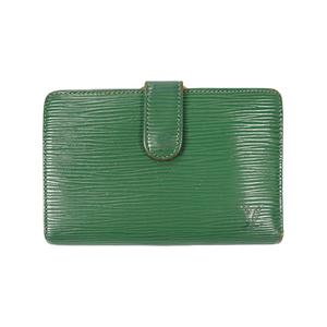 Auth Louis Vuitton Wallet (bi-fold) Epi Porte Monnaie Viennois M61663