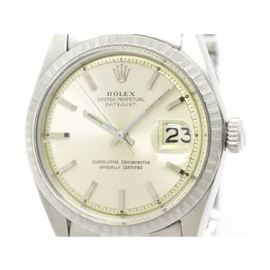 Vintage ROLEX Datejust 1603 Stainless Steel Automatic Mens Watch