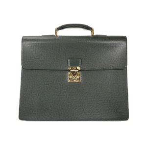 Auth Louis Vuitton Briefcase Taiga Moscoba M30034