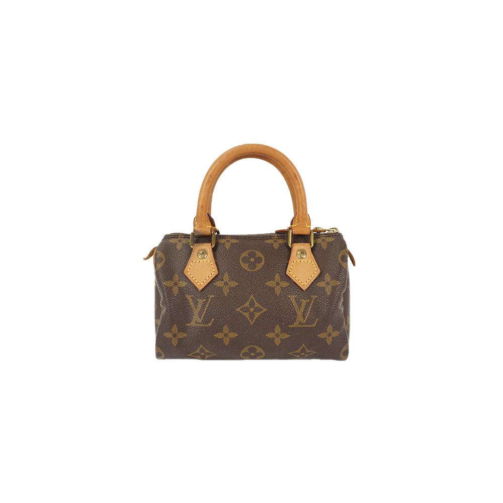 Auth Louis Vuitton Handbag Monogram MiniSpeedy M41534
