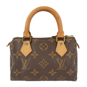 Auth Louis Vuitton Handbag Monogram MiniSpeedy M41534