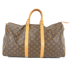Auth Louis Vuitton Bostonbag Monogram Keepall 45 M41428 Men,Women,Unisex