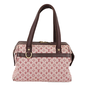 Auth Louis Vuitton Handbag Monogram Mini Josephine PM M92414  Cherry