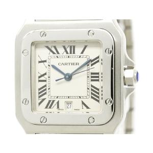 Cartier Santos Galbee Quartz Stainless Steel Men's Dress Watch W20060D6