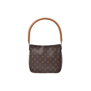 Louis Vuitton Looping MM M51146 Handbag,Shoulder Bag Monogram