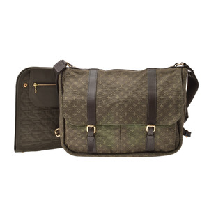 Louis Vuitton Monogram Mini Sac Maman M42351 Shoulder Bag Khaki
