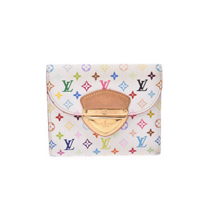 Louis Vuitton Monogram Multicolore M58081 PVC Wallet Multi-color