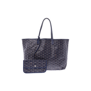 Goyard Saint Louis PM Tote Bag Navy
