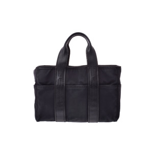 Hermes Acapulco Canvas Tote Bag Black