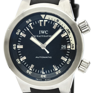 IWC Aqua Timer Stainless Steel Automatic Mens Watch IW354807