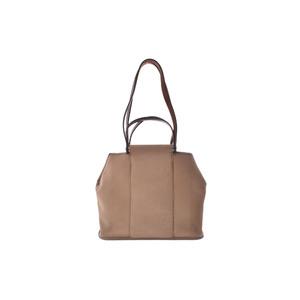 Hermes Cabag PM Toile H Handbag Khaki