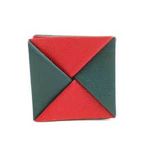 Hermes Zulu Coin Purse/coin Case Red,Green