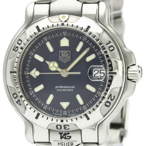Tag Heuer 6000 Series Quartz Stainless Steel Men's Sports Watch WH1215