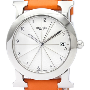 Hermes Heure H Quartz Stainless Steel Unisex Dress Watch HR1.510