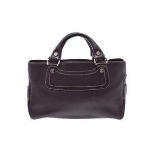 Celine Boogie Leather Bag Brown