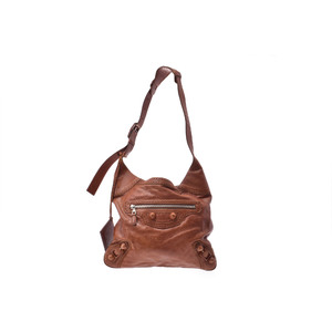 Balenciaga Giant Leather Bag Brown