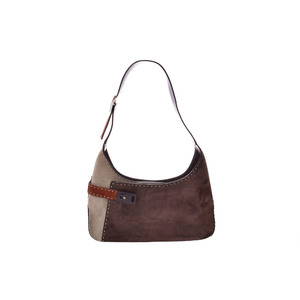 Ferragamo Semi Shoulder Bag Leather Bag