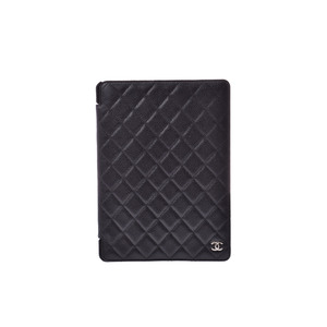 シャネル(Chanel) iPad case キャビアスキンスマホ・携帯ケース ブラック