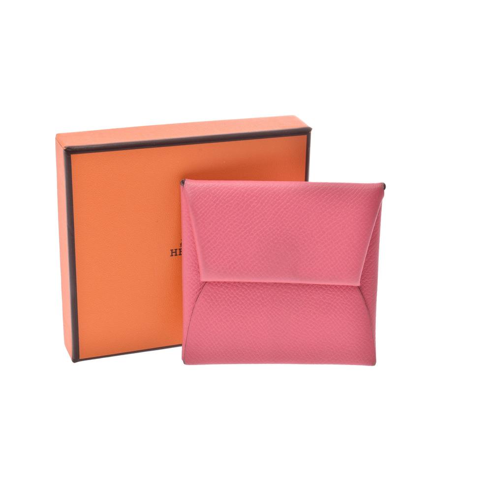 bc0ade53c Hermes Bastia Epsom Leather Coin Purse/coin Case Rose Azalee   elady.com