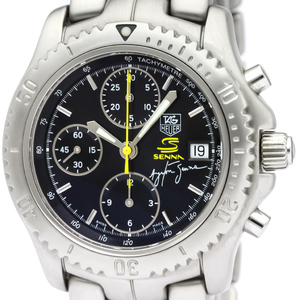 TAG HEUER Link Chronograph Ayrton Senna Limited Watch CT2115