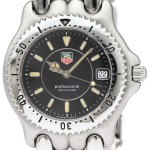 Tag Heuer Sel Quartz Stainless Steel Men's Sports Watch WG1118