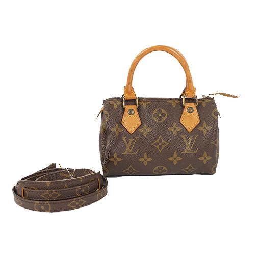 1410a92c67d3 Auth Louis Vuitton Shoulder Bag Monogram Mini Speedy M41534
