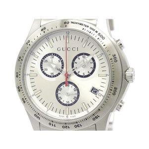 GUCCI グッチ 126.2 Gタイムレス クロノグラフ ステンレススチール クォーツ メンズ 時計