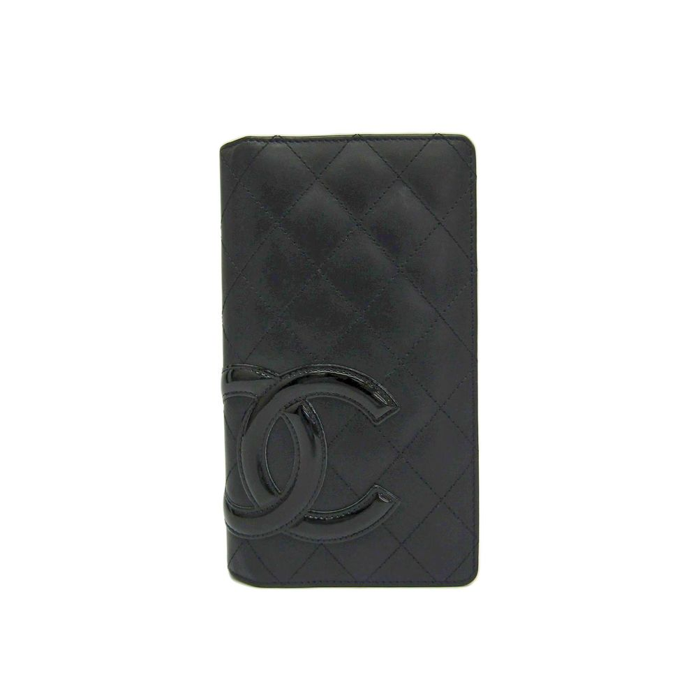 Cambon A26717 Long Wallet (bi-fold) Black
