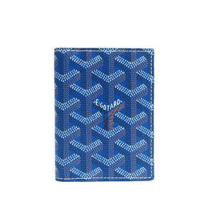 Goyard Card Case (Blue)