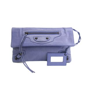 Balenciaga Envelope 224915 Women's Clutch Bag Purple
