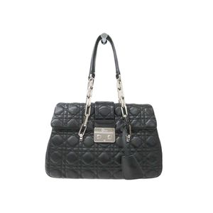 Christian Dior Canage/Lady Dior New Lock Canage Chain Shoulder Bag M9814PSSQ Women's Shoulder Bag Black