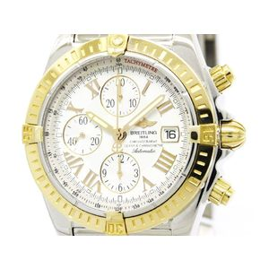 Breitling Chronomat Automatic Pink Gold (18K),Stainless Steel Men's Sports Watch C13356