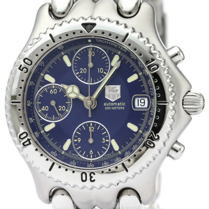TAG HEUER Sel Chronograph Steel Automatic Mens Watch CG2111