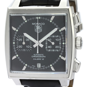 Tag Heuer Monaco Automatic Stainless Steel Men's Sports Watch CAW2110