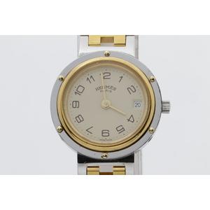 エルメス(Hermes) クリッパー ステンレススチール(SS) レディース 腕時計 エルメス クリッパー