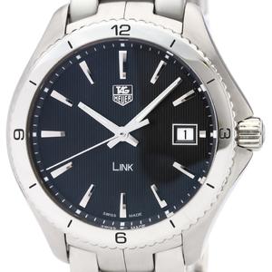 Tag Heuer Link Quartz Stainless Steel Men's Sports Watch WAT1110