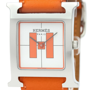 Hermes Heure H Quartz Stainless Steel Unisex Dress Watch HH1.510