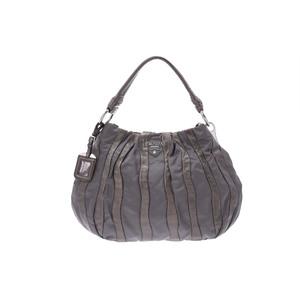 プラダ(Prada) One shoulder bag レザー,ナイロン バッグ