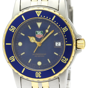 Tag Heuer Professional Quartz Gold Plated,Stainless Steel Men's Sports Watch WD1223