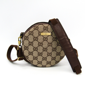 Gucci GG Canvas 90700 Women's GG Canvas Shoulder Bag GG Beige