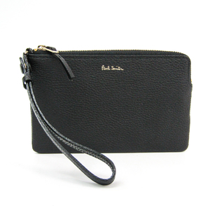 Paul Smith Women's Leather Pouch Black