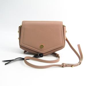 Jimmy Choo ARROW J000076866001 Women's Leather Shoulder Bag Black,Pink