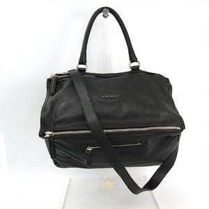 ジバンシィ(Givenchy) パンドラ LARGE 12G5252012 ユニセックス レザー ハンドバッグ,ショルダーバッグ ブラック