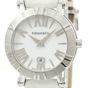 Tiffany Atlas Quartz Stainless Steel Women's Dress Watch Z1300.11.11A20A71A