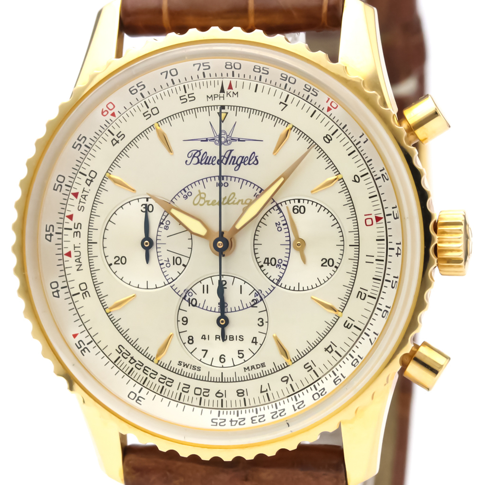 Breitling Navitimer Automatic Rose Gold (18K) Men's Sports Watch H30030.1