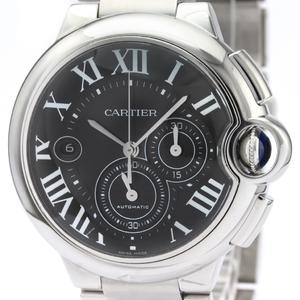 カルティエ(Cartier) バロンブルー 自動巻き ステンレススチール(SS) メンズ スポーツウォッチ W6920077