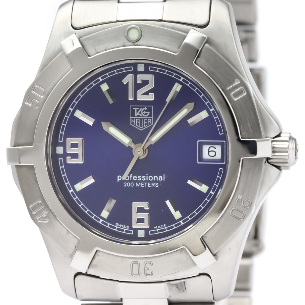 Tag Heuer 2000 Series Quartz Stainless Steel Men's Sports Watch WN1112